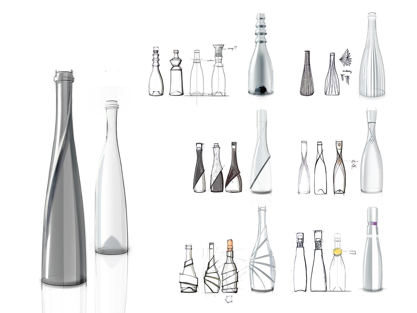 The Sparkling Diva Prosecco Bottle Envary