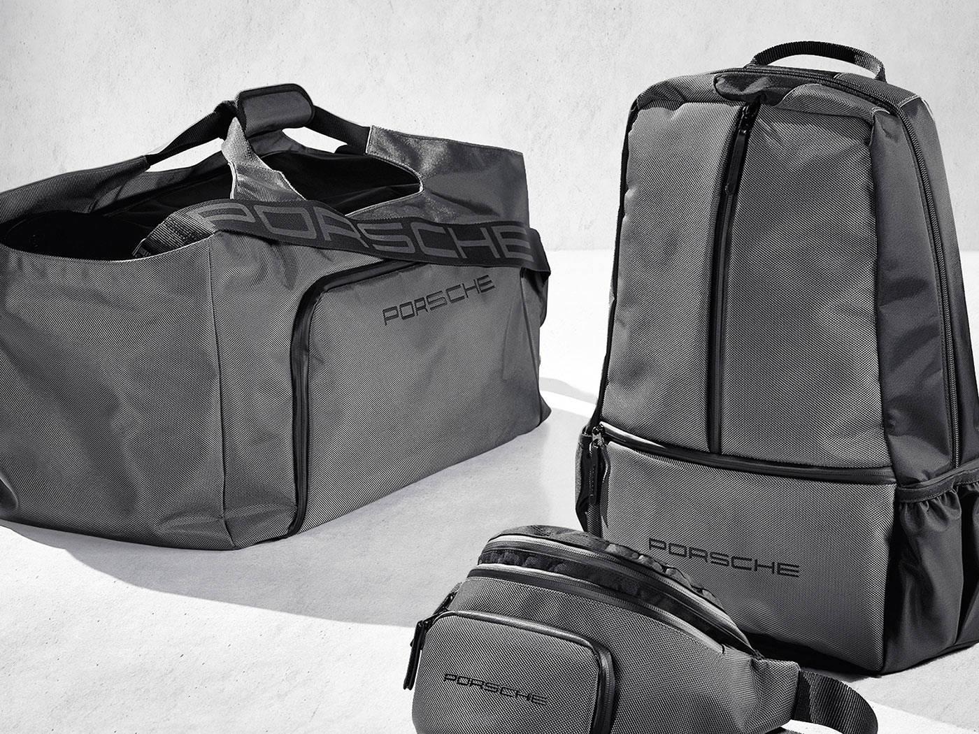 porsche sports bag and backpack envary. Black Bedroom Furniture Sets. Home Design Ideas