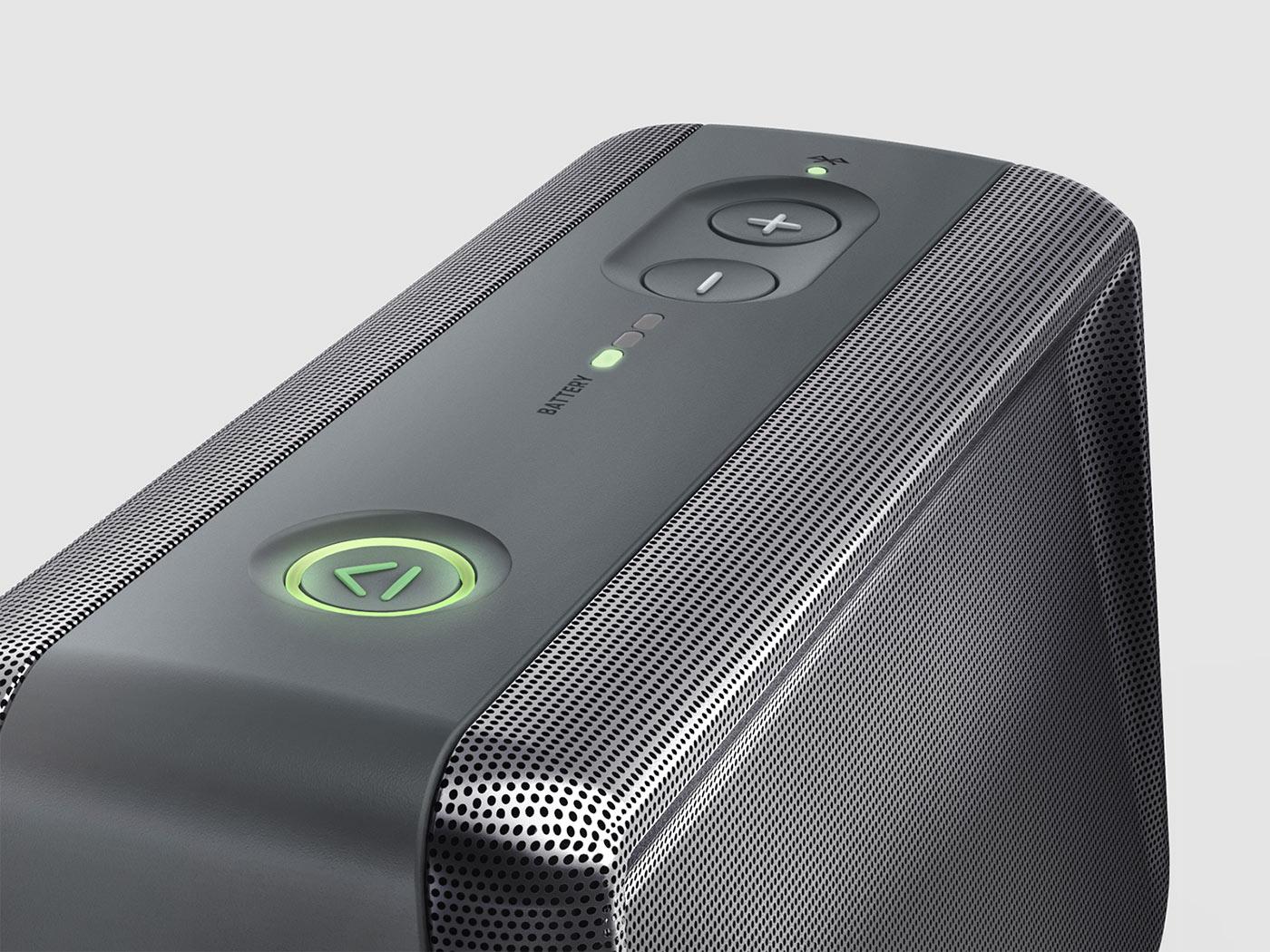 Ihome Portable Bluetooth Speaker Envary