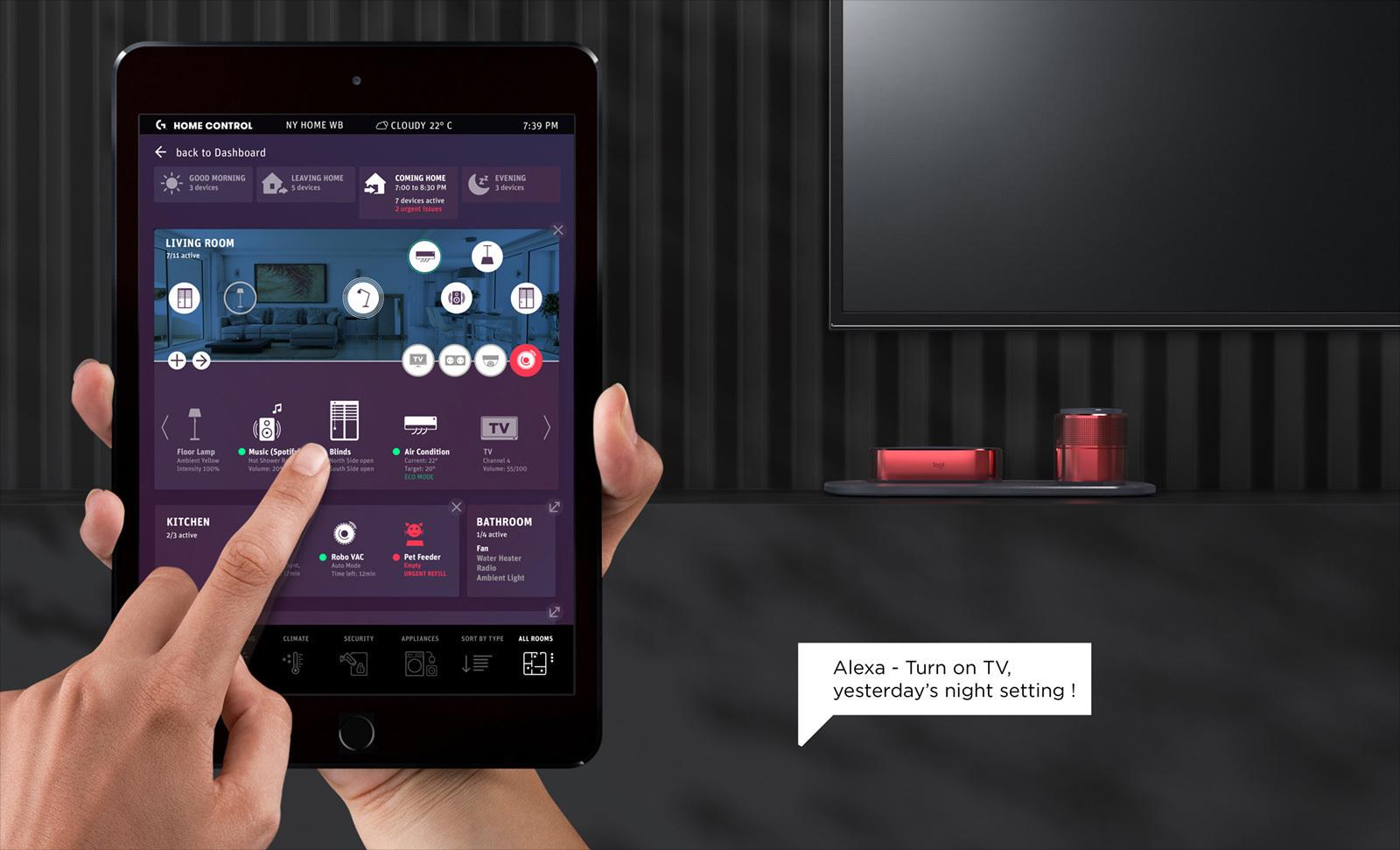 tablet tv app, tablet furniture app, tablet mouse app, tablet wifi app, tablet keyboard app, on tablet app home screen design